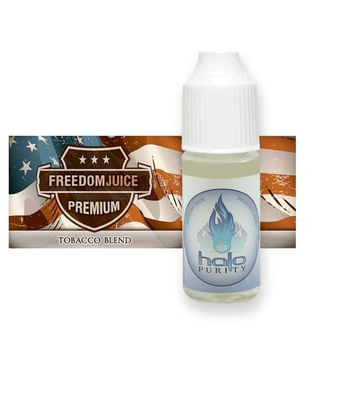 E-LIQUIDE Pur Tabac de Virginie FREEDOM JUICE - HALO