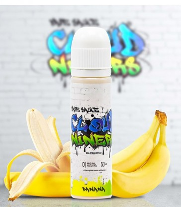 E-LIQUIDE BANANA - CLOUD NINERS