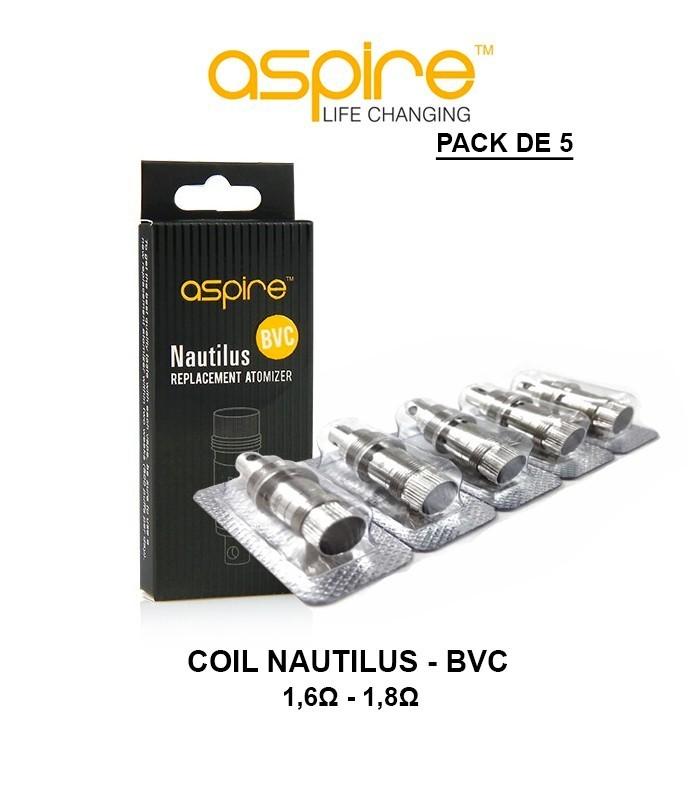 COIL RESISTANCE ASPIRE NAUTILUS BVC