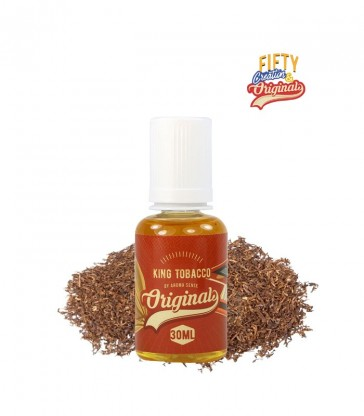 CONCENTRÉ KING TOBACCO 30ML -  FIFTY CREATION