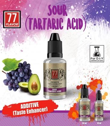 ADDITIF TARTARIC ACID 10 ML  - 77 FLAVOR