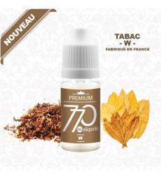 E-Liquide Tabac - W -