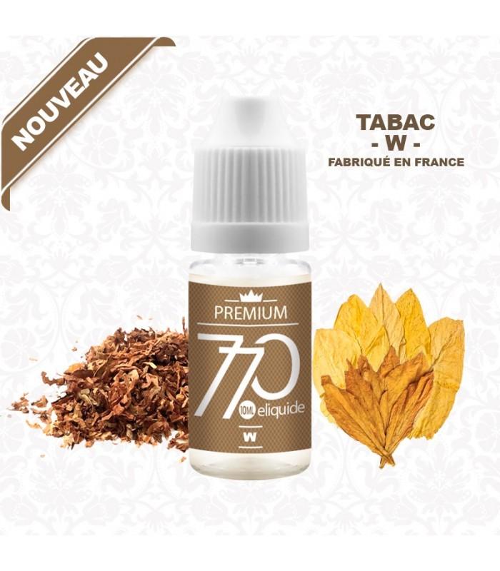 E-Liquide Tabac - W - 770 Premium