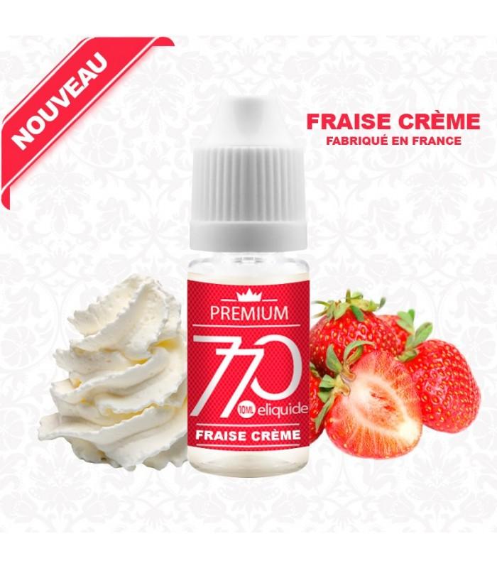 E-Liquide Saveur Fraise Crème
