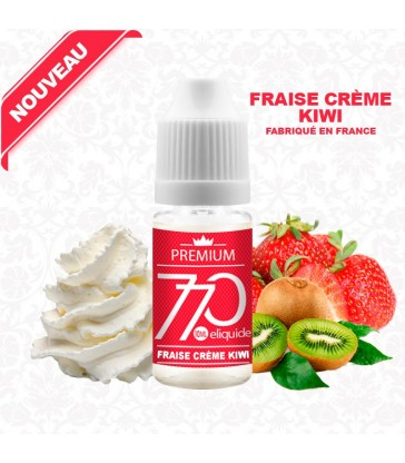 E-Liquide Saveur Fraise Crème Kiwi