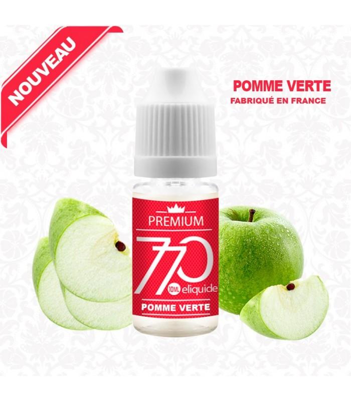 E-Liquide Saveur Pomme Verte