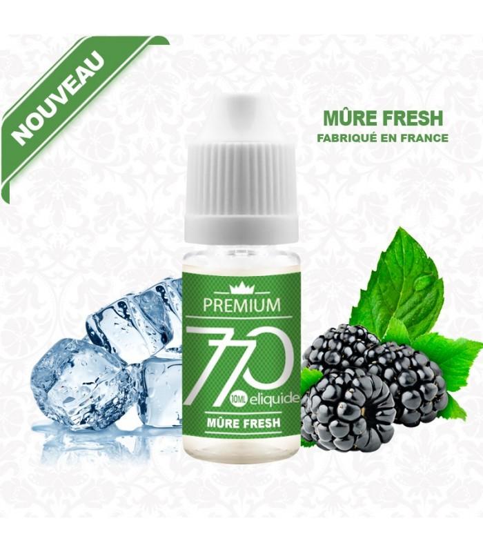 E-Liquide Mûre Fresh