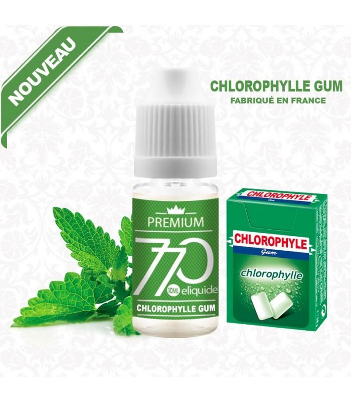 E-Liquide Chlorophylle Gum
