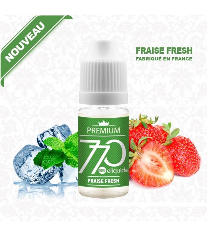 E-Liquide Fraise Menthe Fresh