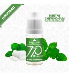 E-Liquide Menthe Chewing-gum