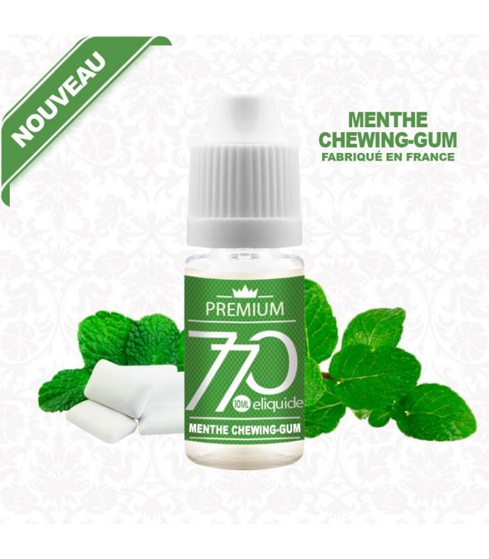 E-Liquide Chewing-gum à la Menthe