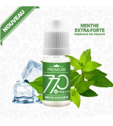 E-Liquide Menthe Extra Forte