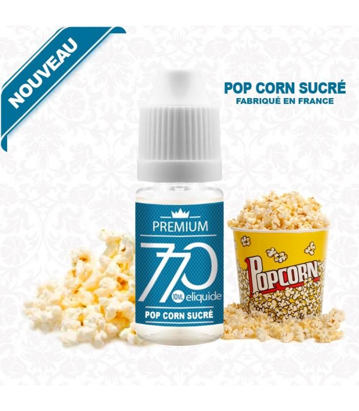 E-liquide POP CORN SUCRÉ 770 PREMIUM 10 ml