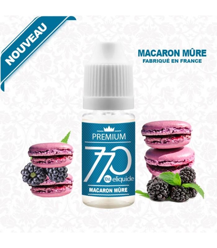 E-liquide MACARON MÛRE COCO 770 PREMIUM 10 ml