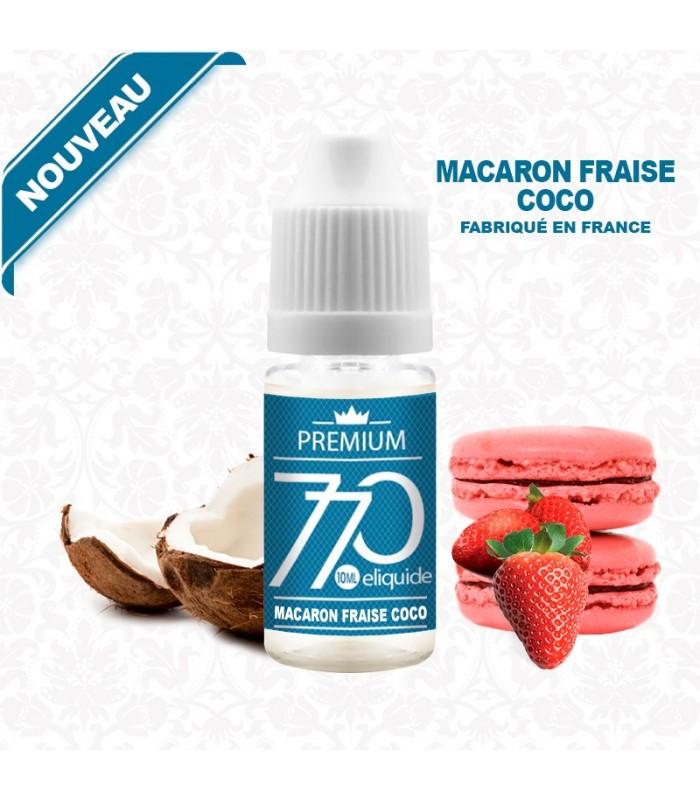 E-Liquide Macaron Fraise Coco