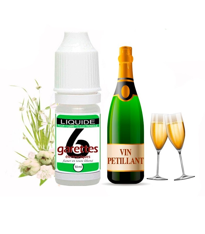 E-LIQUIDE VIN PETILLANT VALEO 10 ml