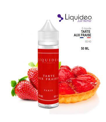 E-Liquide TARTE AUX FRAISES - Liquideo