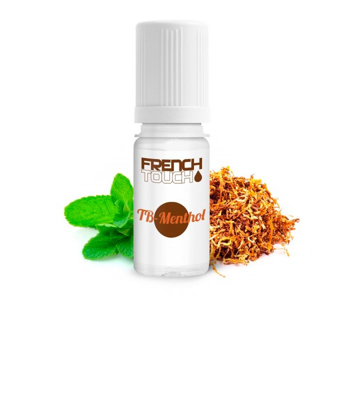 E-LIQUIDE FRENCH TOUCH TABAC MENTHOL 10ml