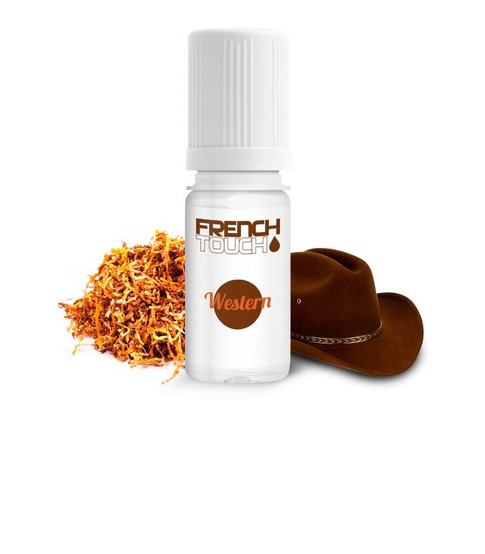 E-LIQUIDE FRENCH TOUCH WESTERN 10ml