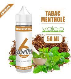 Eliquide TABAC MENTHOLÉ 50ML