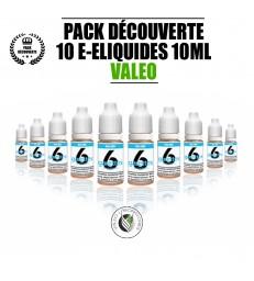 PACK 10 LIQUIDES VALEO 10 ML
