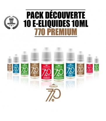 PACK 10 LIQUIDES 770 PREMIUM