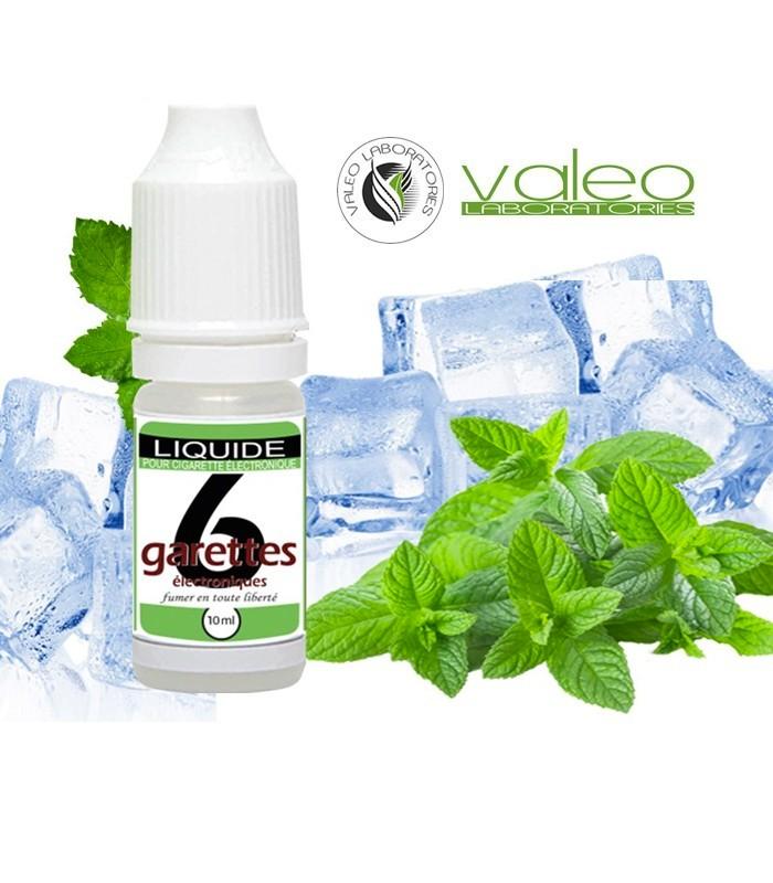E-liquide VALEO MENTHE GLACIALE pas cher 10 ml 2,00 €. Livraison Express
