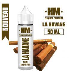 E-liquide LA HAVANE - HM PREMIUM