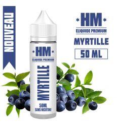 E-liquide MYRTILLE - HM PREMIUM