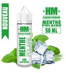 E-liquide MENTHE POLAIRE - HM PREMIUM