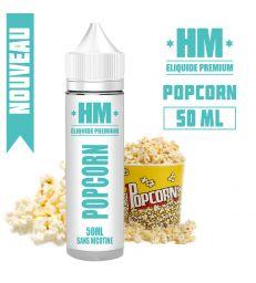E-liquide POPCORN - HM PREMIUM