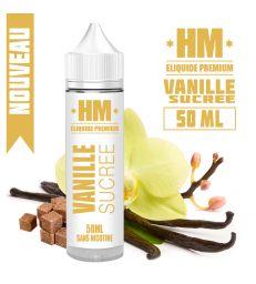 E-liquide VANILLE SUCRÉE - HM PREMIUM