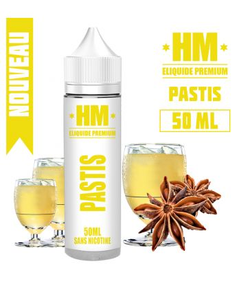 E-liquide PASTIS - HM PREMIUM