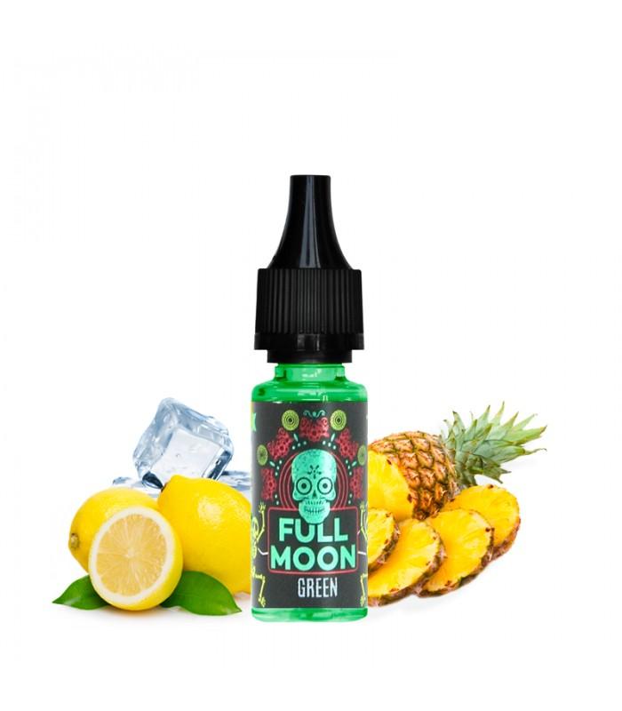 GREEN Concentré Citron Jaune, Citron Vert, Ananas, Gingembre 10ml - FULL MOON
