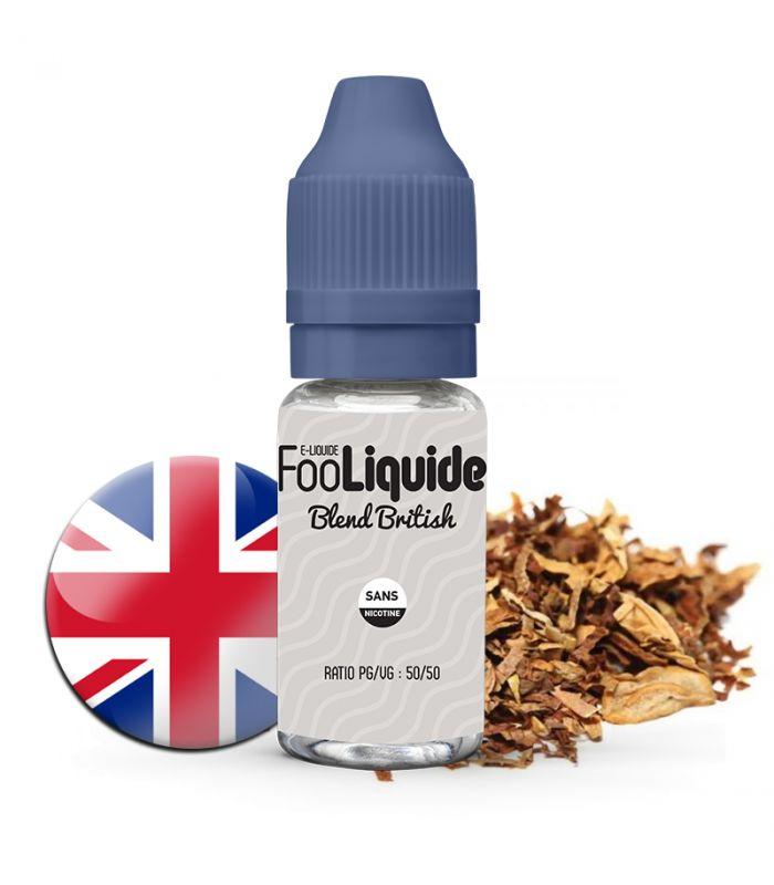 E-Liquide BLEND BRITISH - FOOLIQUIDE