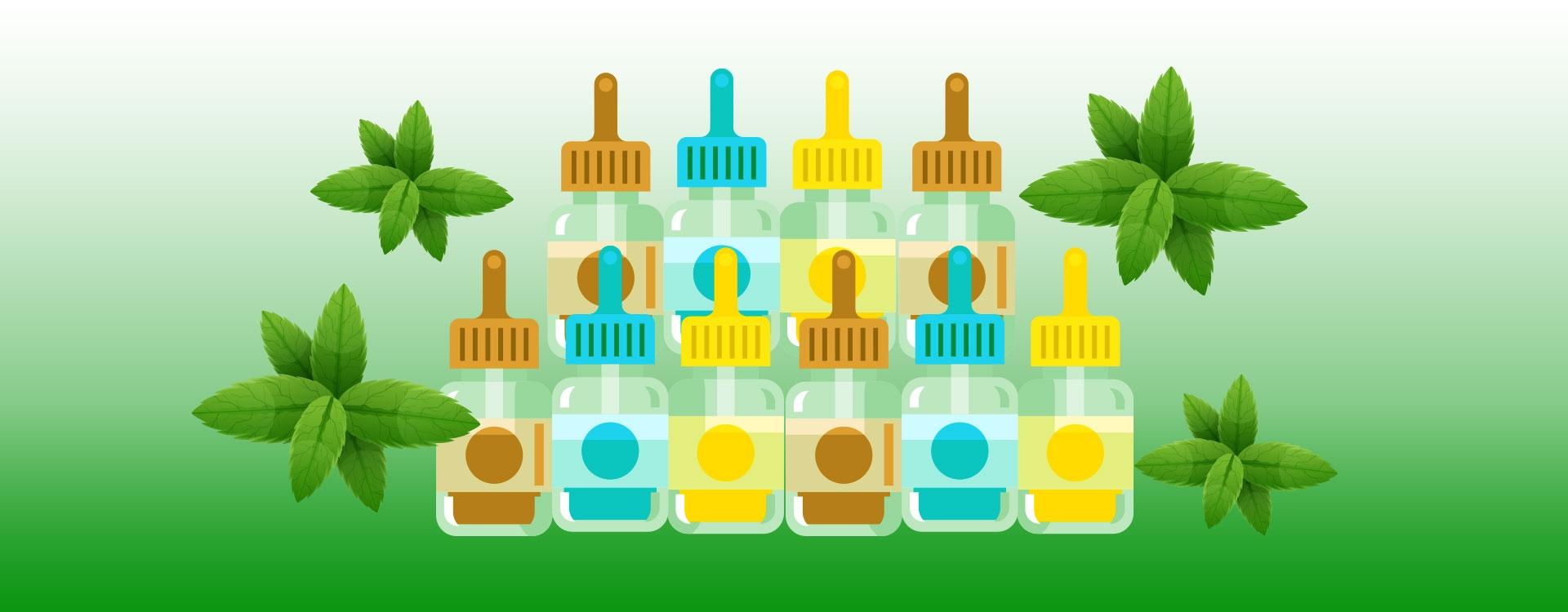 Sélection des 10 meilleurs e-liquides menthol